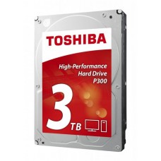 HDD Toshiba P300 HDWD120UZSVA, 3Тб, HDD, SATA III, 7200rpm 64Mb 3.5
