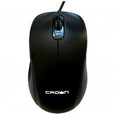 Мышка оптическая  CMM-501 Bk (Crown)