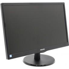 "Monitor 21.5"" PHILIPS 223V5LHSB/01 TFT 5мс 250кд/м2 1000:1 1xVGA 1xHDMI"