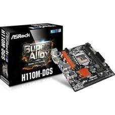 ASRock  H110M-DGS R3.0 LGA1151 INTEL H110